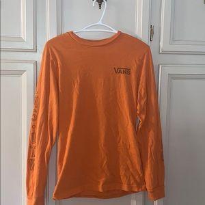 Vans Orange Long Sleeve